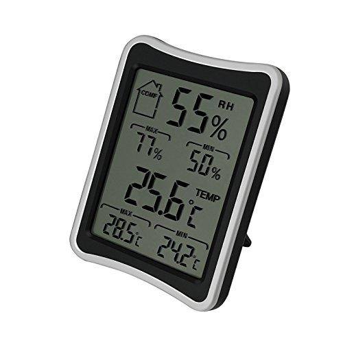 ALWAYSUV デジタル温湿度計 温度計 湿度計 室内 大画面 みやすい温湿度...