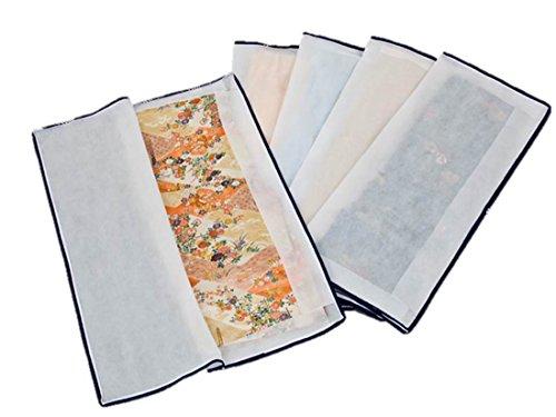 アストロ 着物収納ケース 5枚組 不織布製 3方開きファスナ...