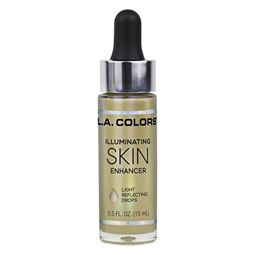 扱いやすいコード商標L.A. COLORS Illuminating Skin Enhancer - Liquid Gold (並行輸入品)