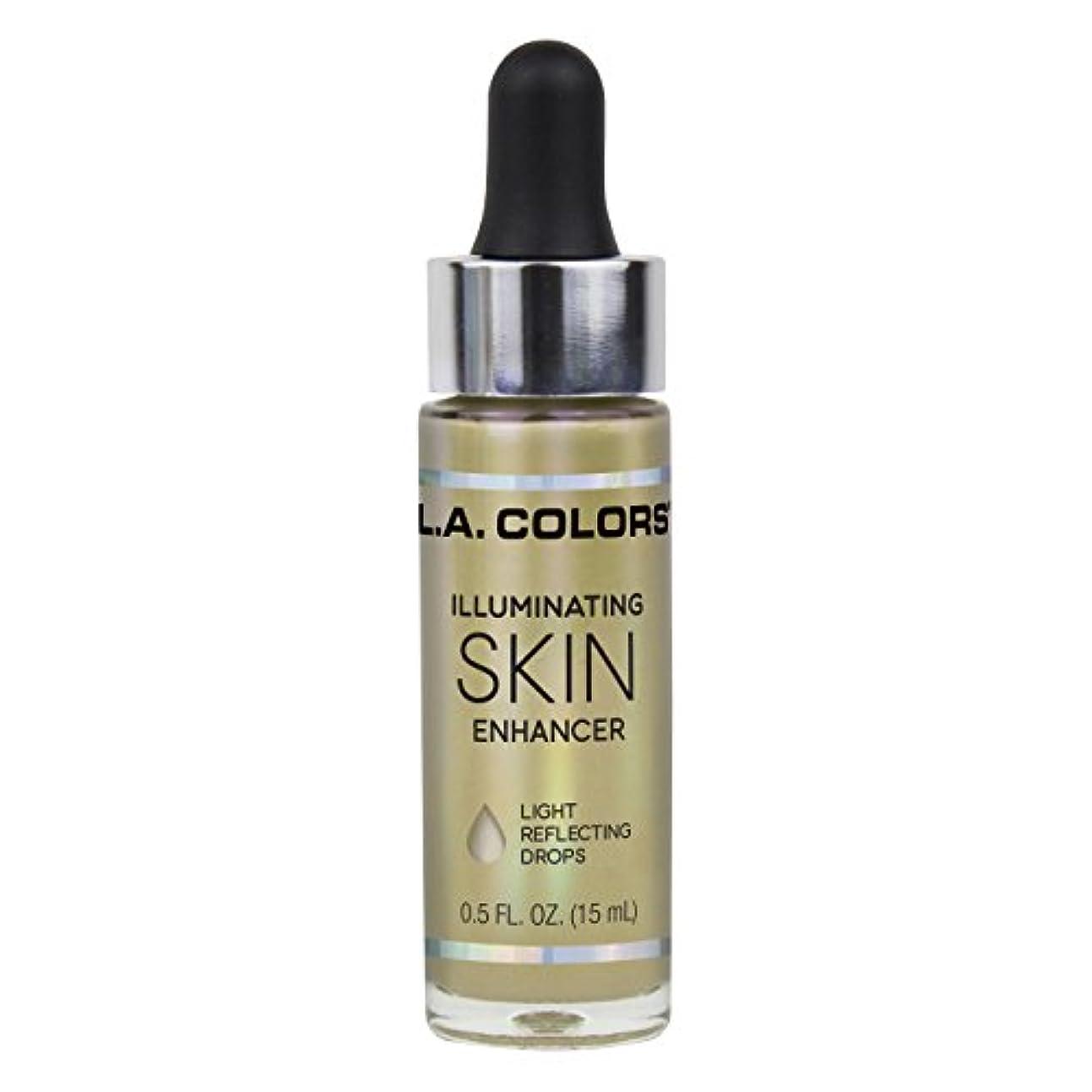 制限段階チャンスL.A. COLORS Illuminating Skin Enhancer - Liquid Gold (並行輸入品)