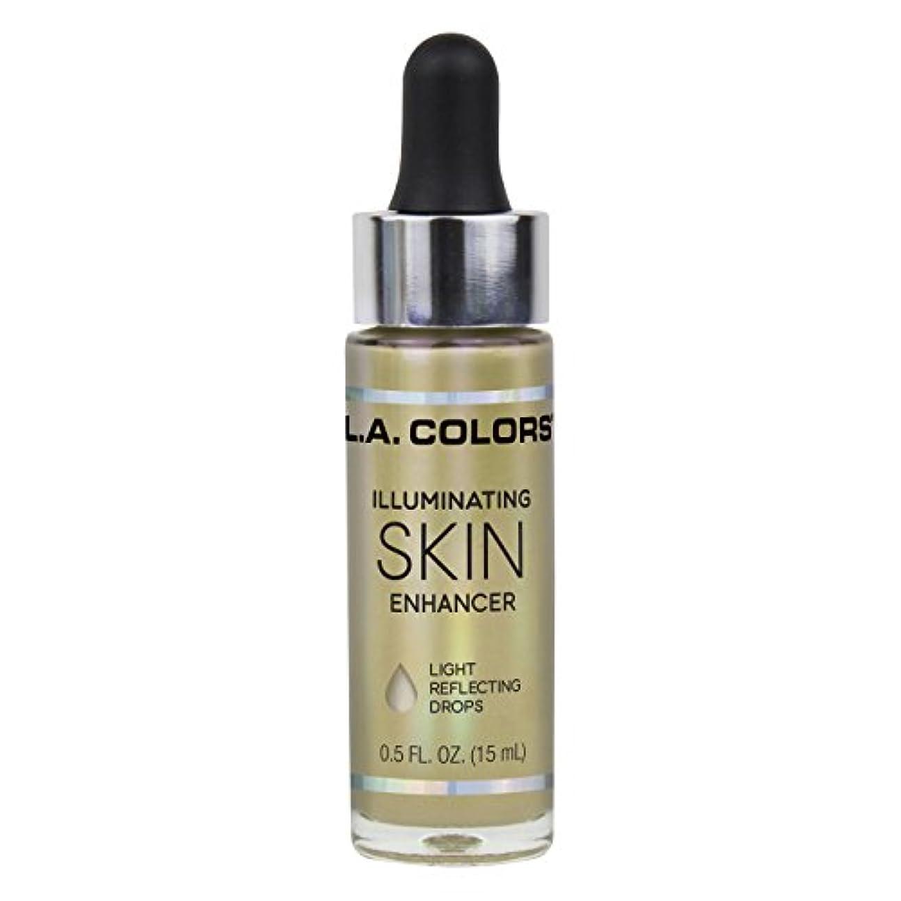 移民降雨情緒的L.A. COLORS Illuminating Skin Enhancer - Liquid Gold (並行輸入品)