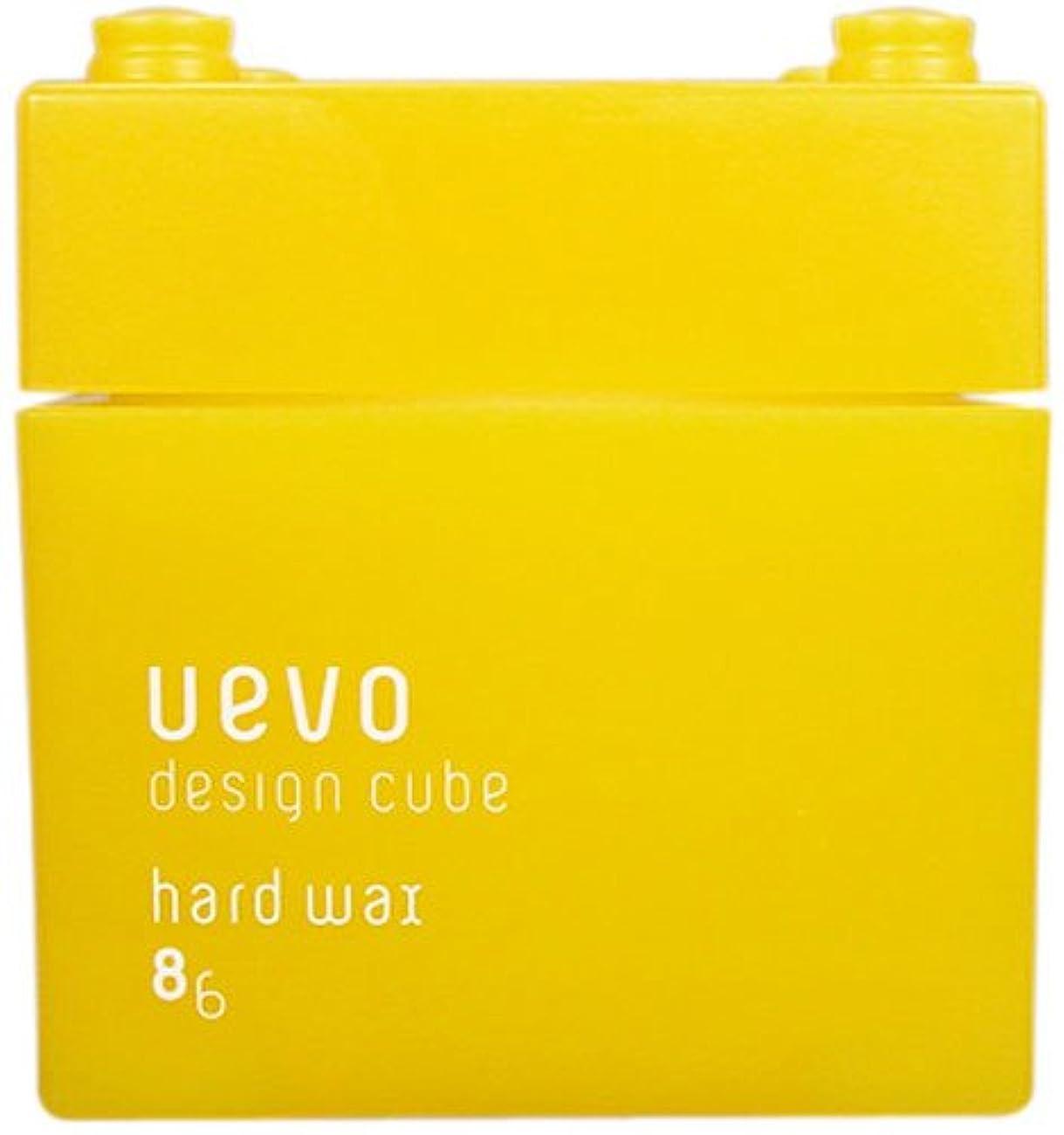 朝アルコール硫黄ウェーボ デザインキューブ ハードワックス 80g