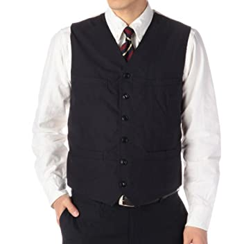 Cotton Vest RF-62001: Navy