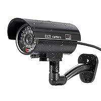 YingniaoJP フェイク カメラ 偽監視カメラ 防犯カメラ 防水 セキュリティ CCTVカメラ