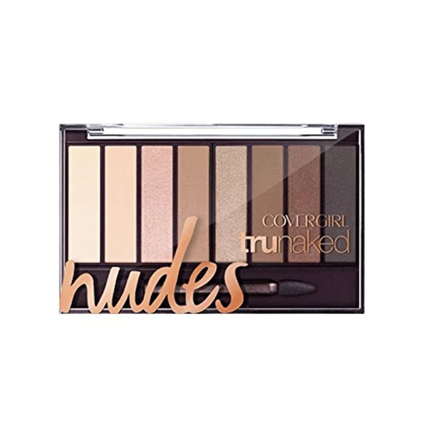 腹つなぐ引き出す(3 Pack) COVERGIRL TruNaked Eyeshadow Palette - Nudes (並行輸入品)