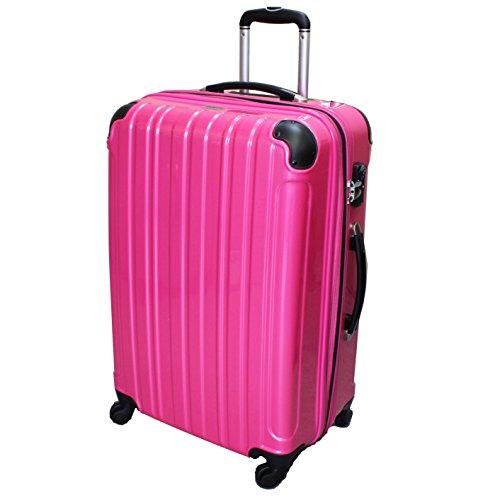 (シェルポッド) shellpod スーツケース HZ-500 中型 Mサイズ 鏡面ピンク【M/PK】