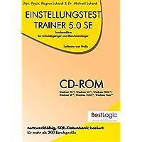 Einstellungstest-Trainer 5.0 SE. Fuer Windows Vista/2003/XP/2000/NT/98: Sonderedition fuer Schulabgaenger und Berufseinsteiger