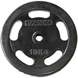 IVANKO(イヴァンコ)ラバーイージーグリッププレート10kg RUBKZ-10