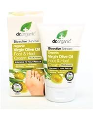 Dr.Organic OVフット&ヒールクリーム 125ml
