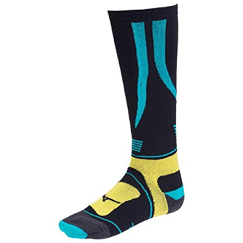 [해외]MIZUNO (미즈노) 스키 훈련 바이오 기어 피겨 8 롱 양말 [남여] Z2JX6501 31 : 터키석 25-27/MIZUNO (Mizuno) ski training bio gear figure 8 long socks [unisex] Z2JX6501 31: turquoise 25-27