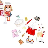 """Our Generation Home Accessory - Master Baker Set for 18"""" Dolls"""