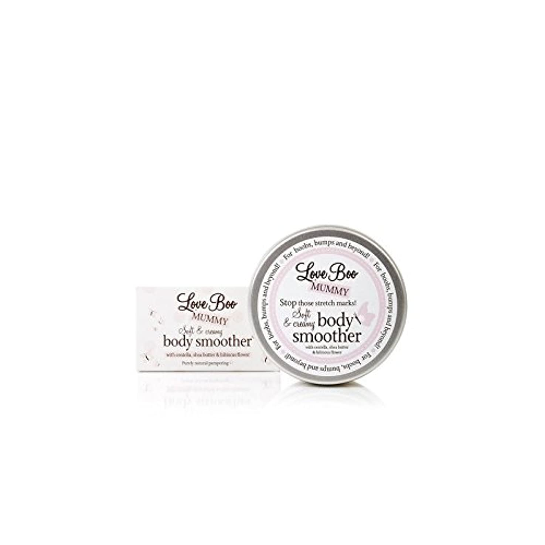 モトリー定義予防接種するLove Boo Soft & Creamy Body Smoother (190ml) (Pack of 6) - スムーズなソフト&クリーミーボディ(190ミリリットル)大好き x6 [並行輸入品]