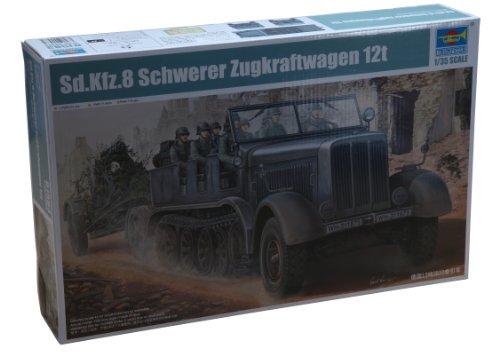 1/35 ドイツ軍 Sd.kfz.8 12t重ハーフトラック