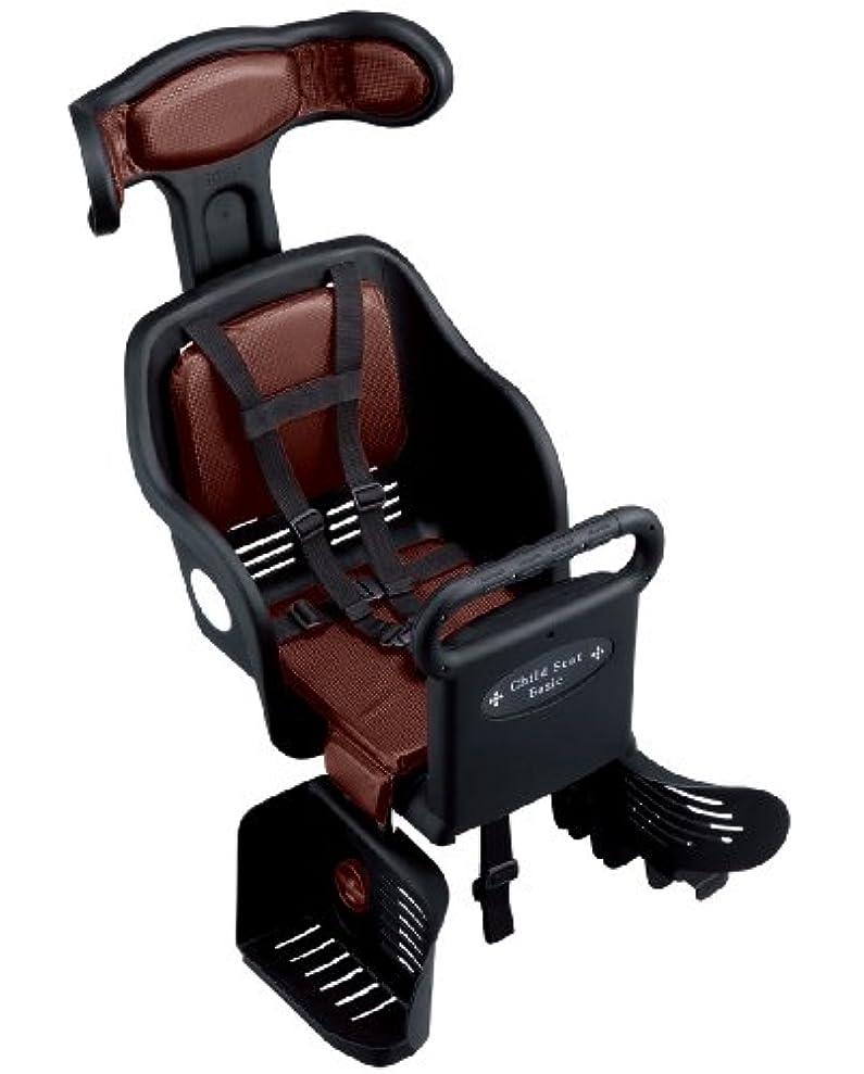 蘇生する経営者腹自転車 チャイルドシート 子供のせ BK/DBR 47002
