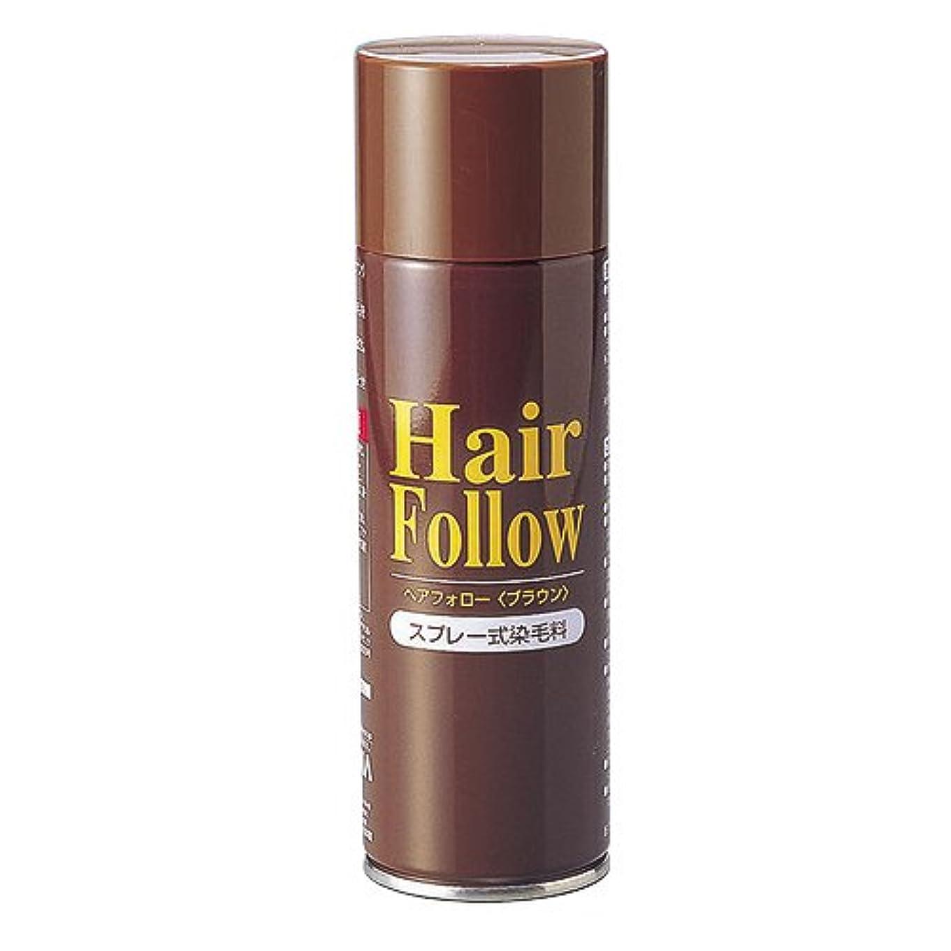 厚さ倒錯ホラーヘアフォロースプレー ブラウン