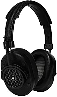 Master & Dynamic MH40 Rolling Stones Edition Over-Ear, Wired Headphones with Genuine Lambskin Ear Pads, Bl