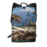 バックパックリュックサック大容量 ラップトップバッグ メンズ レディースカジュアルバッグ オシャレ 恐竜 アニメ 旅行バッグ 通学リュック 男女兼用バッグ