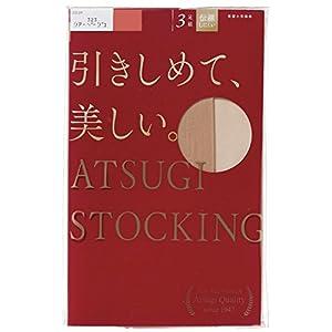 [アツギ] ATSUGI STOCKING(アツギ ストッキング) 引きしめて、美しい。 〈3足組〉 レディース FP8813P シアーベージュ 日本 L~LL (日本サイズ2L相当)-(日本サイズ2L相当)