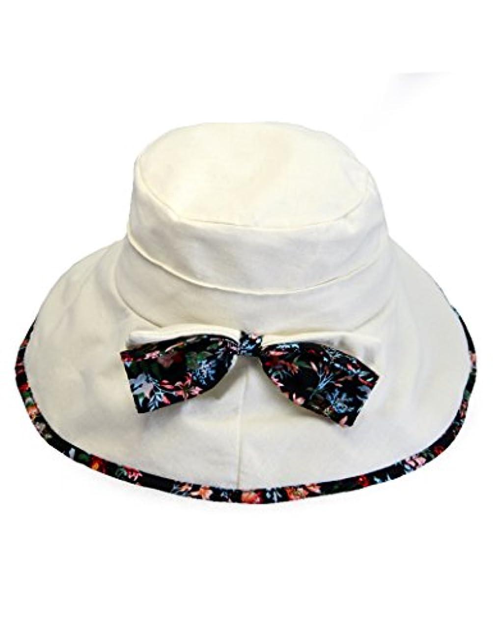 日よけ帽 女性の布の日の帽子夏の日焼け止めFoldableアンチUVビーチバイクの帽子 ( 色 : 3 )