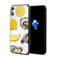 スマホケース IPhone 8 / IPhone 7 ケース 電話ケース アイフォンケース 携帯ケース 牡蠣と蜜柑 防塵 耐汚れ 耐衝撃 すり傷防止 保護ケース 携帯電話の殻 軽量 TPU ソフトケース 男女兼用 おしゃれ 人気 個性贈り物