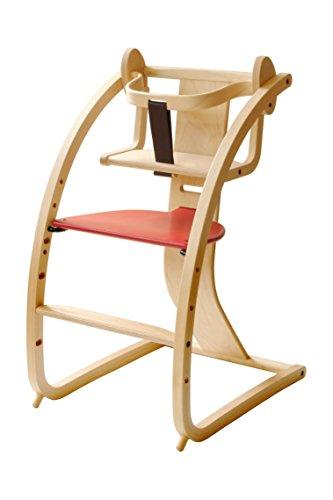 Sdi Fantasia Bambini+baby set 赤 STC-02 赤ちゃんも子供も大人も使えるいす 日本製