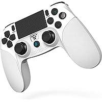 [2020最新版] SHINEZONE PS4 コントローラー Bluetooth 無線 HD振動 ゲームパット搭載 高…