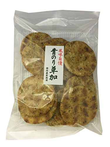 丸福米菓 青のり草加 13枚入 6袋