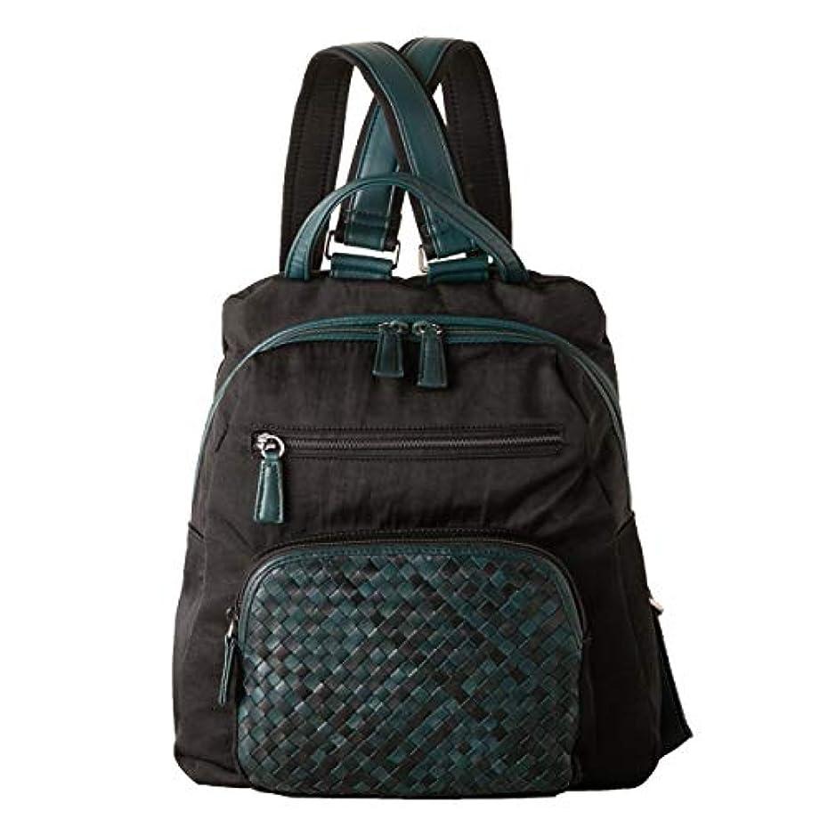 パッケージロック柔らかい[イマイバッグ] totrue レディース リュックサック 本革 メッシュ 馬革 キャンバス バックパック 軽量 多機能 バッグ