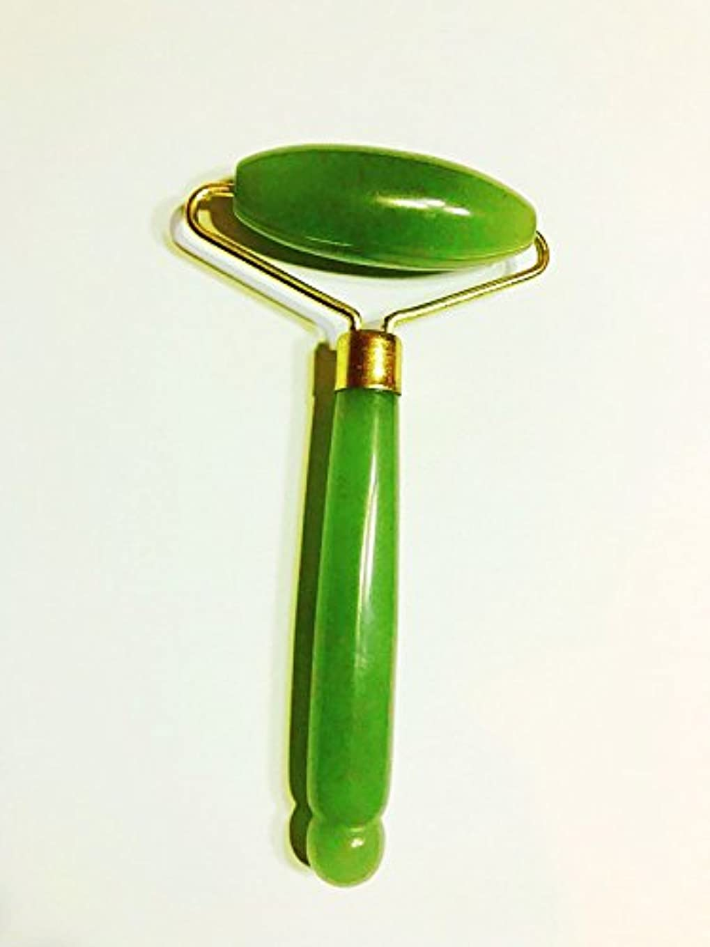 ほとんどないできればかもめEcho & Kern  グリーンアベンチュリンの美顔ローラーフェイスマッサジローラー Single head Jade Roller Spa massage tool