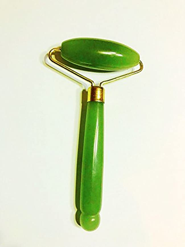 コロニー半円悲劇Echo & Kern  グリーンアベンチュリンの美顔ローラーフェイスマッサジローラー Single head Jade Roller Spa massage tool