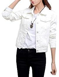 (キリル) KIRIRU レディースファッション トップス アウター Gジャン デニム ジャケット ブルゾン 長袖 ショート丈
