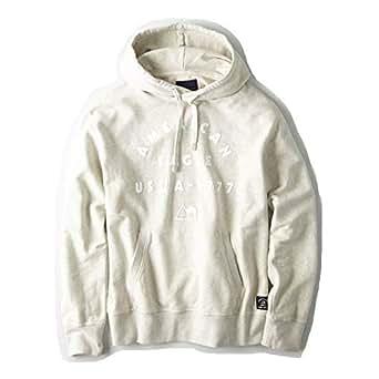 【アメリカンイーグル】 AMERICAN EAGLE コットンソリッドロゴフーディーTシャツ AE Cotton Solid Logo Hoodie T-shirt 【並行輸入品】