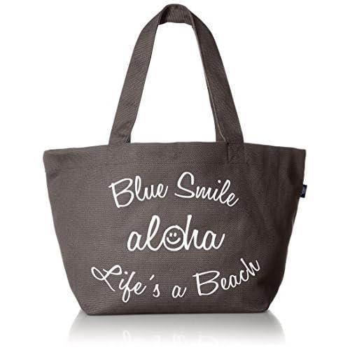 [エムユースタイル] BLUESMILE aloha キャンバストート L  17MUBS-L GY グレー