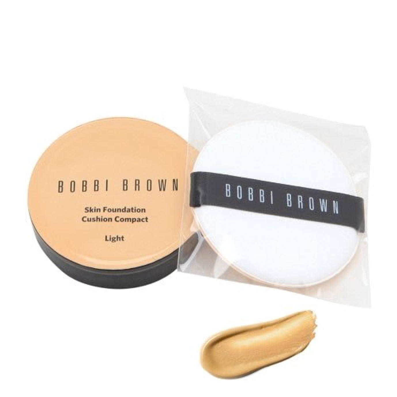 のヒープ泳ぐためらうボビーブラウン BOBBI BROWN スキン ファンデーション クッション コンパクト SPF 50(PA+++) #03 LIGHT [並行輸入品]