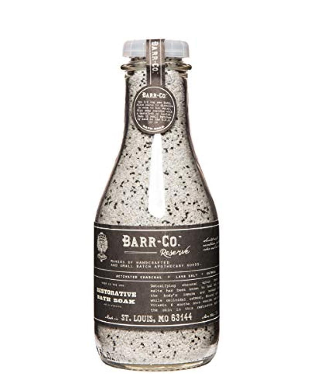金銭的レジデンス使用法BARR-CO./バスソルト リザーブ