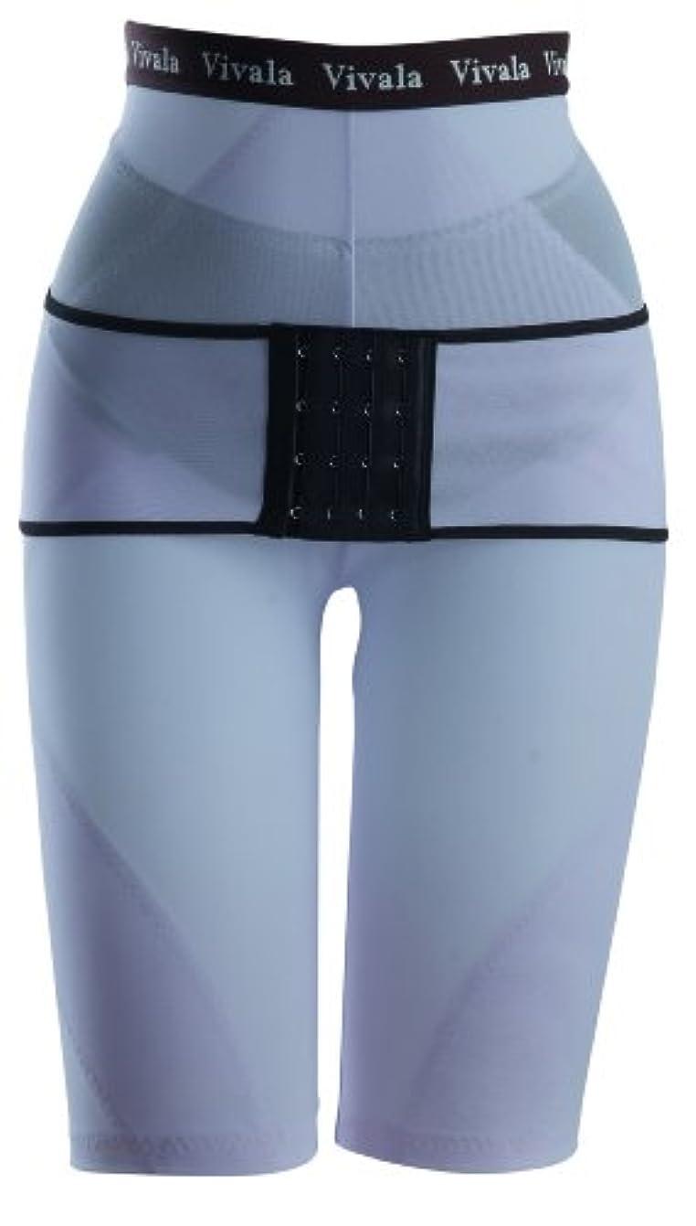 足肩をすくめるボックスきれいやせたい ベルト付骨盤美腹ガードル(パープル) 70サイズ