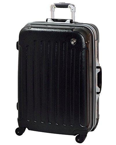 MS型 ブラック / newTSA1037-1 スーツケース キャリーケース TSAロック搭載 マット加工 (3~5日用)