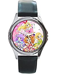 pok088アイカツ。3Manga AnimeレザーWrist Watches新しい