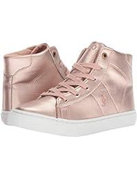 [Polo Ralph Lauren(ポロラルフローレン)] キッズカジュアルシューズ??スニーカー?靴 Easten Mid (Little Kid) Pink Metallic 1.5 Little Kid (20-...