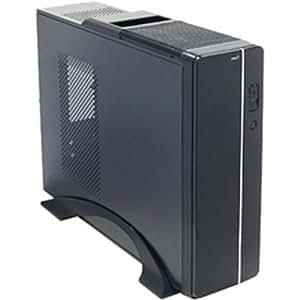 サイズ 300W電源搭載マイクロATXスリムケース 「OSIRIS」 ブラック OSIRIS/A