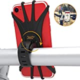 自転車ホルダー スマホホルダー 360度回転 自転車携帯電話ホルダー 4-6インチのスマホに対応 GPSナビ固定