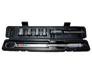 EMERSON(エマーソン) レンチセット トルク対応レンジ:28~210N・m [ 14/17/19/24mmソケット・21mm薄口ロングソケット・エクステンション付属 ] EM-29