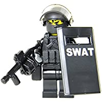 LEGO レゴ カスタム パーツ アーミー 装備品 武器 暴動鎮圧 SWAT(スワット)隊員 ミニフィギュア [並行輸入品]