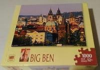 """ビッグベン"""" Old Townプラハ、チェコ共和国"""" 1000ピースジグソーパズル"""