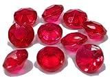 アクリルアイス ダイヤモンド蛍光 レッド(1kg)  / お楽しみグッズ(紙風船)付きセット