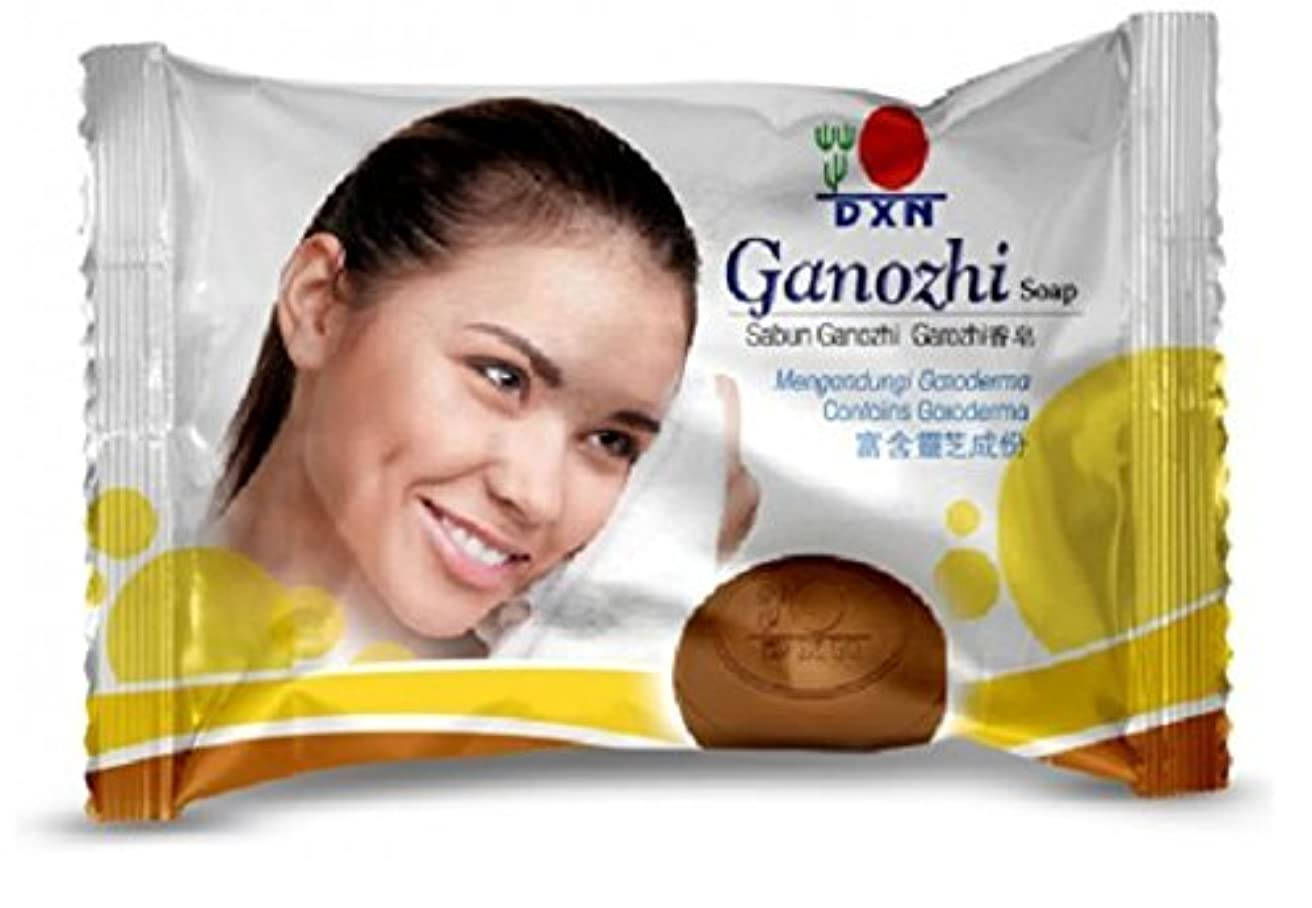 比較的クローン溶接DXN Ganozhi Soap with Ganoderma Extract (Pack of 2)