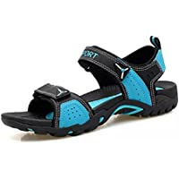 Asifn Women's Outdoor Hiking Sandals Breathable Summer Beach Shoes Walking Leather Sports Lightweight Comfortable Travel