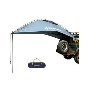 KingCamp (キングキャンプ) タープ テント 車用 キャンプ 日よけテント (グレー)