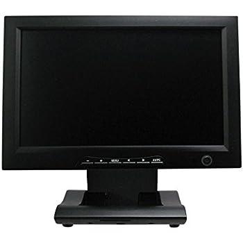 Hanwha 10ポイントマルチタッチ HDMI&DVI&VGA入力対応 10.1インチ 液晶カラーモニター [タッチパネル] HM-TL10MT2