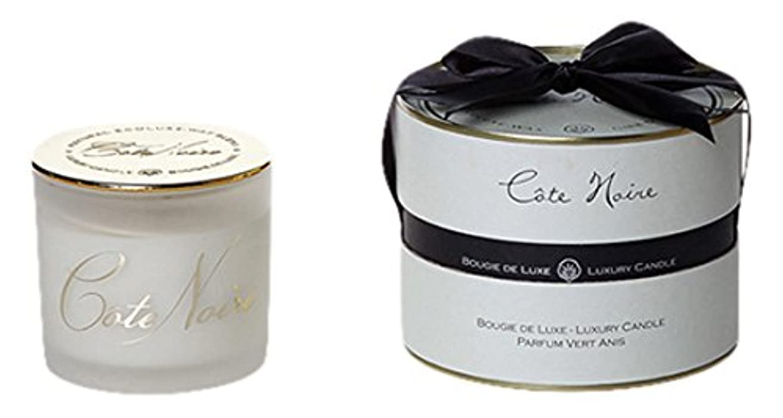 パイント細い上にCote Noire コートノアール フレンチクラシック Large Candle ラージ キャンドル Vert Anis